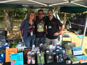 From left to right: authors Stacey Longo, Rob Watts, and G. Elmer Munson.