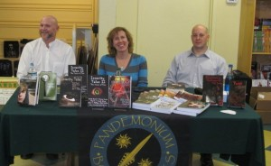From left to right: authors Rob Smales, Stacey Longo, and Vlad V.