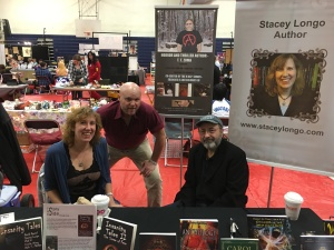 From left to right: authors Stacey Longo, Rob Smales, and Tony Tremblay.